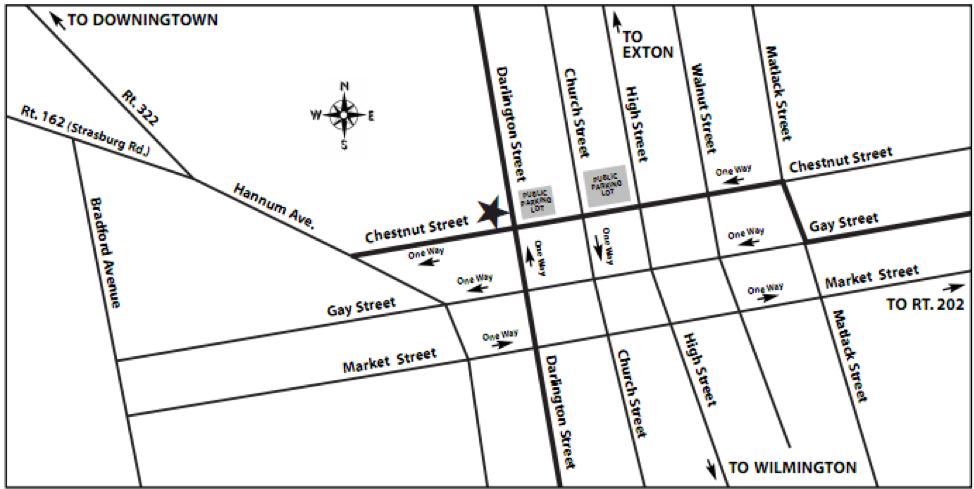 Heather Tuckman Map to Office